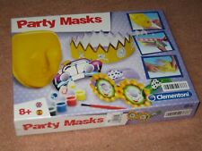 PARTY MASKS Make Your Own Face Mask Fancy Dress Party DIY Craft Kit - Clementoni