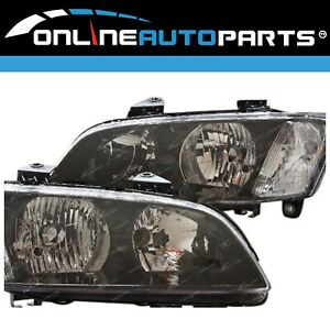 Headlights PAIR Left+Right For Holden Commodore VE Series 1 2006-2010 Lamps Head