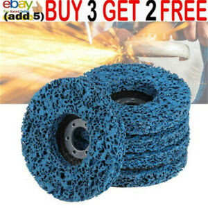 115mm Poly Strip Grinding Wheel Discs Paint Rust Remover Angle Grinder Abrasivaa