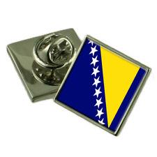 Bosnie & Herzégovine Drapeau Badge 18mm Choisissez Pochette Cadeau