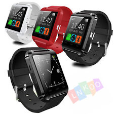 Bluetooth Smart Wrist Watch Phone Mate For Android IOS Iphone Samsung LG Sony