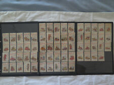 BRYMAY SET of 64 REDHEADS 50 MATCHES BOX LABELS c1960s VINTAGE VETERAN CARS