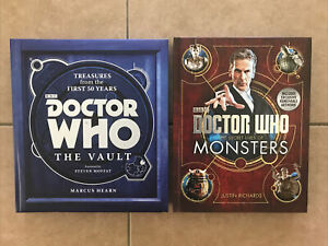 DOCTOR WHO - THE SECRET LIVES OF MONSTERS & TREASURES FROM THE FIRST 50 YEARS