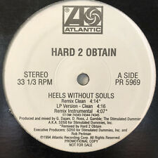 "HARD 2 OBTAIN - HEELS WITHOUT SOULS / REMIX / HIP HOP LIFESTYLE (12"")  1994!!!"