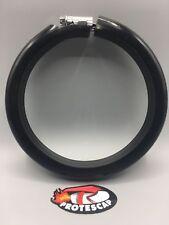 Universal Motorrad Auspuff Protektor,Racing,Auspuffschutz,Schutzring,schwarz,M