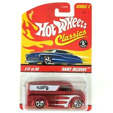 Hot Wheels Classics Dairy Delivery Truck Red Spectraflame Paint Die Cast 1/64