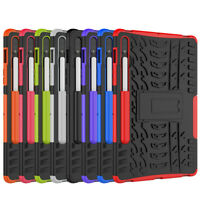 """Rugged Hybrid Armor Stand Case Cover For Samsung Galaxy Tab S7 11.0"""" T870 T875"""