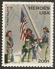 US B2 Heroes of 2001 First Class single MNH 2002