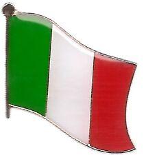 Lot Of 3 Italy Flag Lapel Pins - Italian Flag Pin