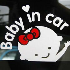 "Hot Girl Baby on Board ""Baby in car"" Window Car Sticker Auto Truck Vinyl Decals"