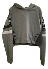 Baby Phat Gray & Black Pull Over Hoodie