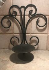 "2 Rustic Sconce Brown Candle Holder Wall Decor. 10-1/2""L X 10""W."