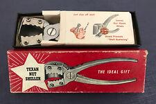 Vintage Genuine Texas Nut Cracker Nut Sheller Crab Lobster Walnut Pecan
