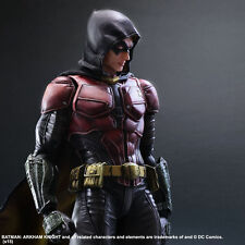 PLAY ARTS KAI BATMAN ARKHAM KNIGHT NO:2 ROBIN ACTION FIGURES STATUE 3D MODEL TOY