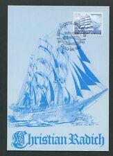 NORWEGEN MK 1981 SCHIFFE RADICH MAXIMUMKARTE CARTE MAXIMUM CARD MC CM 60644