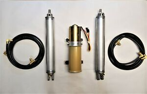 NEW 1957-1959 DeSoto, Plymouth, Chrysler, Dodge Convertible Pump Hoses Cylinders