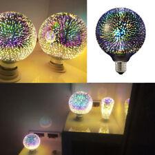 E27 G95 LED 3D bunte kreative Dekor Glühbirne Feuerwerk Lampe Szene Design Licht