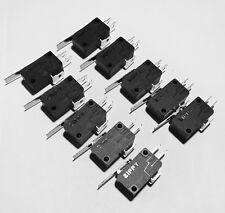 10 Pieces ZIPPY Micro Switch For Arcade Joystick 4.8mm Terminals