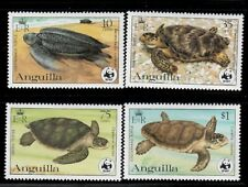 Anguilla,Scott#537-540,MNH,Turtles,Scott=$36