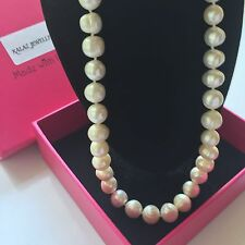 100%Genuine White Freshwater 10mm Round Pearl Necklace Boxed MOTHERS DAY GIFT