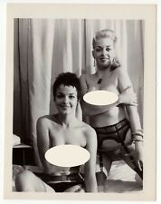 Superbe photographie vintage 50/Klaw/Nylon/erotic/fetichisme/breast/girlfriend