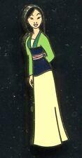 Princess Mulan Glitter Top Disney Pin 93365