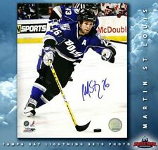 MARTIN ST. LOUIS Signed Tampa Bay 8 X 10 -70504