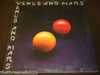 VINYL LP - VENUS AND MARS - WINGS - PCTC 254