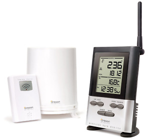 Oregon Scientific Wireless Rain Gauge Weather Station with Remote Sensor -