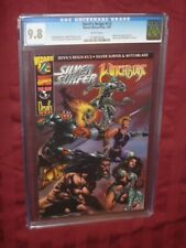 Devil's Reign #1/2 CGC 9.8 Wizard Special Edition    Silver Surfer/Witchblade