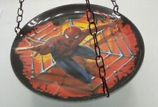 """Handcrafted Bird Feeder 9"""" Hanging recycled Bird feeder ~ One of a Kind"""