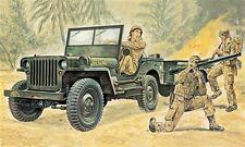 Willy's Jeep Plastic Kit 1:35 Model 0314 ITALERI