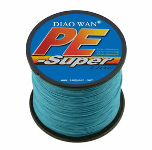 300M PE Braided 4 Strands Super Strong Spectra Extreme Sea Testing Fishing Lines