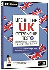 Life in the UK Citizenship Test by Focus Multimedia Ltd (DVD-ROM) - NEW