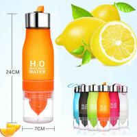 700ML Lemon Cup H2O Drink Water Bottle Drink More Water Drinking Bike Bottle