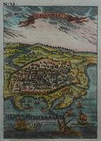 Alexandria in Ägypten - Ansicht von Alain Manesson Mallet - Original von 1720