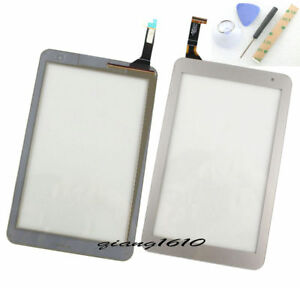 """u For Toshiba Encore 2 WT8-B 8.0"""" Touch Screen Digitizer Replacement Silver"""