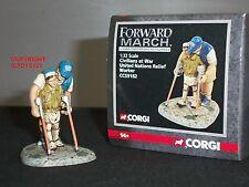 Corgi CC59182 marche united nations onu relief worker toy soldier figure