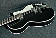 Hofner HCT-500/2-BK contemporary CLUB BASS GUITAR Black GREAT UK VINTAGE STYLE