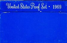 1969-S US Proof Mint Set 5 Coins Silver & CLAD 20wls0801 $2 Shipping