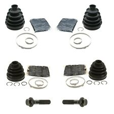 For Volvo C30 2008 A/T Set of 2 Front Inner & Outer Boot Kit w/ Bolts
