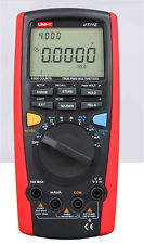 UNI-T Intelligent Digital Multimeter Tester USB to PC True RMS UT-71E NEW