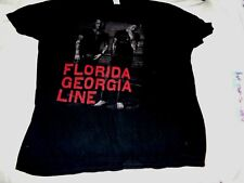 "Florida Georgia Line "" Tour 2015 Tee "" Tee [ 2Xl] Z"