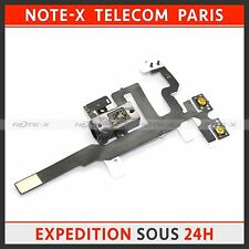 Headphone Jack Audio Power Volume Flex Cable Ribbon Part Replace For iPhone 4S