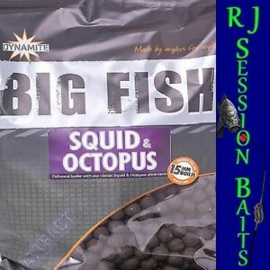 Dynamite Baits Squid & Octopus 15mm Session Pack of 25 Boilies