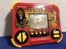 Vintage the Lion King - Tiger Electronics Handheld Game 1990 Disney (Works)