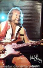 Van Halen 23x35 Michael Anthony Poster 1983 Chicken Foot