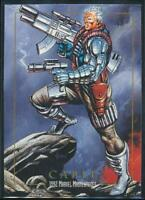 1992 Marvel Masterpieces Trading Card #18 Cable