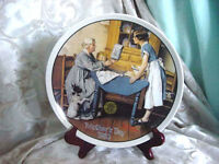 """Norman Rockwell Collector Plate  """"Add 2 Cups """" Gift 1983 L@@K"""