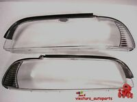 BMW E39  09/2000 - 2004  HEADLIGHT LENS LEFT and RIGHT  FACELIFT  NEW